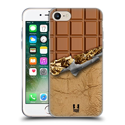 Head Case Designs Cookies Chocolat En Abondance Étui Coque en Gel molle pour Apple iPhone 7 / iPhone 8 Chocofoiled