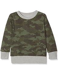 Unbekannt Jungen Sweatshirt C-Neck Sweater Camo