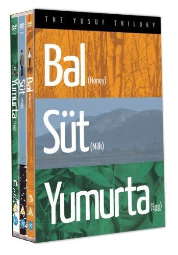 The Yusuf Trilogy - 3-DVD Set ( Bal / S??t / Yumurta ) ( Honey / Milk / Egg ) [ NON-USA FORMAT, PAL, Reg.2 Import - United Kingdom ] by Bora Altas Zen-video-format