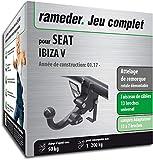 Rameder Attelage rotule démontable pour Seat Ibiza V + Faisceau 13 Broches...