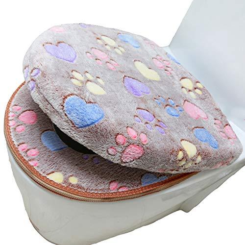 Mak ammaccare cuscino del sedile del water sedile del water sedile del wc cuscino vestito a due pezzi sedile del water impermeabile con cerniera,b,stuoia