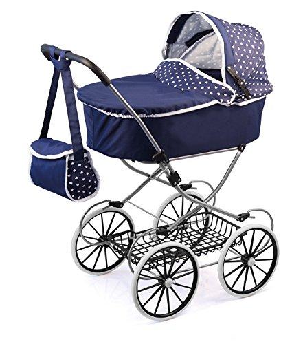 bayer-design-cochecito-de-muneca-classic-deluxe-color-azul-12151aa
