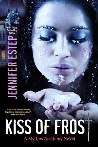 Buchseite und Rezensionen zu 'Kiss of Frost (Mythos Academy Book 2) (English Edition)' von Jennifer Estep