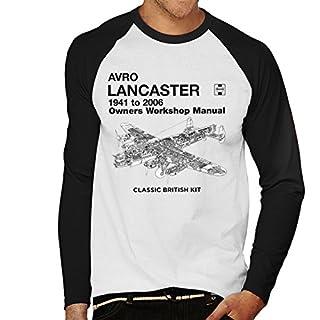 Haynes Owners Workshop Manual Arvo Lancaster 1941 to 2006 Men's Baseball Long Sleeved T-Shirt