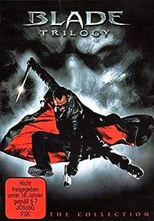 Blade Trilogie 1,2 und Teil 3 im Extended Cut - UNCUT DVD Box (Indizierung aufgehoben)