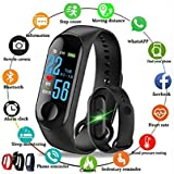 Piesome Intelligence Bluetooth Health Wrist Smart Band Watch Monitor/Smart Bracelet/Health Bracelet/Smart Watch for Mens/Activity Tracker(Multi Color)