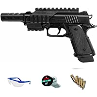 PACK pistola de aire comprimido Daisy 5170 - Arma de CO2 y balines BBs (perdigones de acero) <3,5J