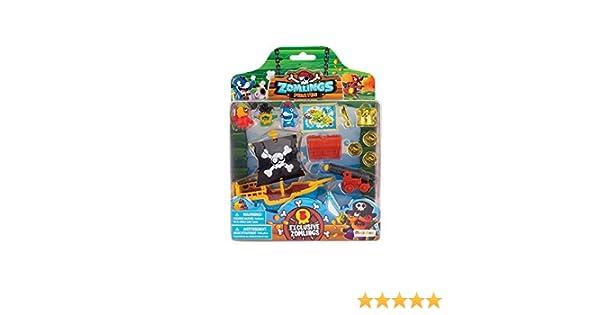 Zomlings Pirate Ship Blister Pack Random Pick Miniture Figure What Not Toys 345