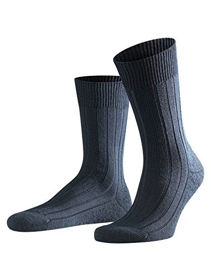 FALKE Herren Socken 14402 Teppich im Schuh SO, Gr. 43/ 44, Blau (dark navy 6370 ) -
