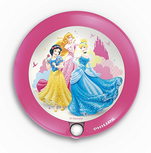 Philips Disney Princess LED Nachtlicht, rosa, 717652816