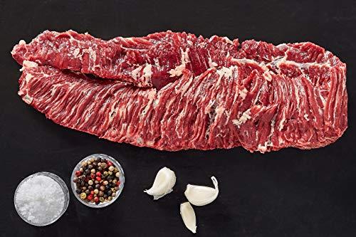 Skirt Steak Irisches Angus Skirt Steak Spider Steak Skirtsteak Saumfleisch Rind Weiderind Irish Beef...