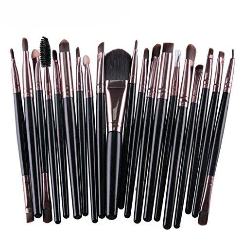 rosennie-20-pcs-set-makeup-brush-set-tools-make-up-toiletry-kit-blush-eye-shadow-foundation-wool-mak