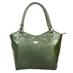Peperone Women's Handbag (Olive Green)