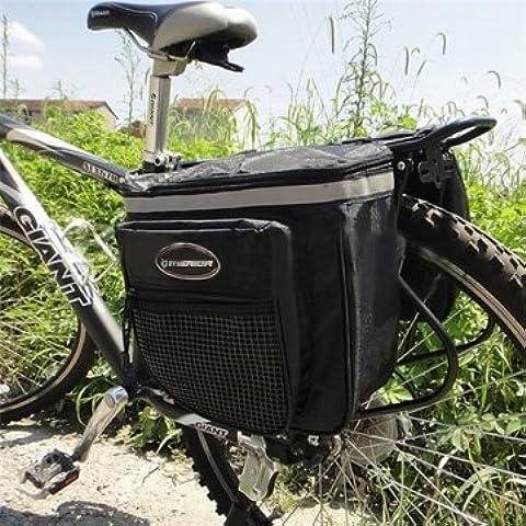 Di alta qualità bicicletta coda impermeabile borsa Pannier doppio lati 28L - Biciclette Pannier