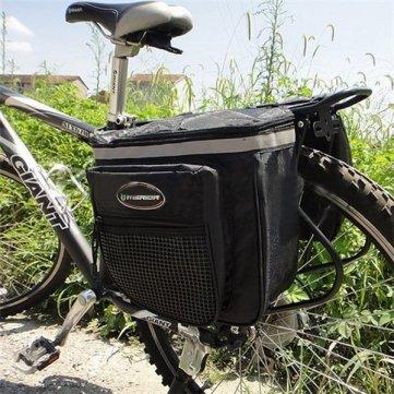 Haut Tail étanche qualité de vélo Sac Pannier Double Sides 28L