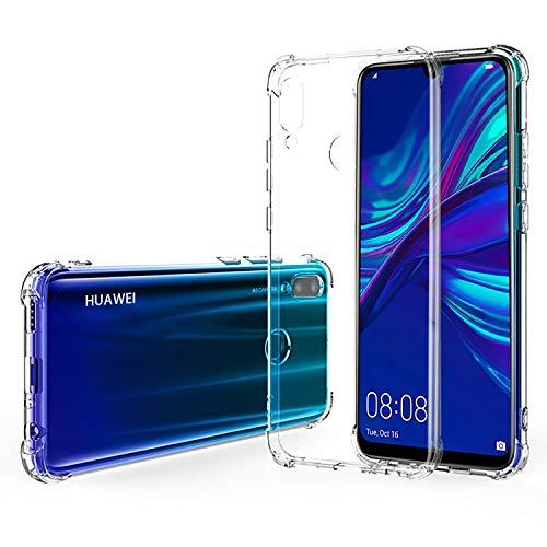 AIFIVE Huawei P Smart 2019 Hülle, Transparent TPU Ultra Dünn Shock-Absorption Handyhülle für Huawei P Smart 2019 (Transparent)