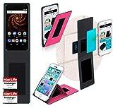 reboon Hülle für Allview X4 Soul Mini S Tasche Cover Case Bumper   Pink   Testsieger