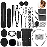 Haare Frisuren Set Umfangreich Haar Zubehör styling set für Unsterschiedliche Haarestyle, Hair Styling Tools mit Haar Clip, Hair Pins, Hair Styling Accessories....20 Arten Haare Frisuren Tool für DIY