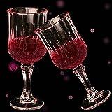 XBJBPL Rotweingläser/Sektgläser/Rotweinglas,2 Teile/Satz Rotweinglas Tasse Kristall Gläser Tasse Für Bar Party Trinken, 2 Stücke Set150 Ml