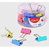 Dolphin Dingli Premium Color Binder Clips 32mm (Pack Of 24 Clips)