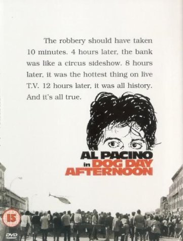 Dog Day Afternoon  DVD   1975