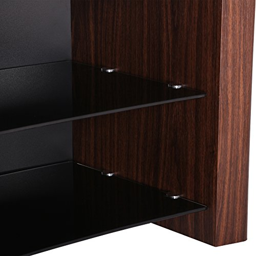 1home gebogen tv bank 32 55 tv schrank tv 4k ultra hd led lcd oled plasma tvs smart 3d tv rack. Black Bedroom Furniture Sets. Home Design Ideas