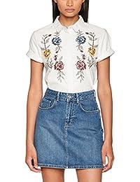 ONLY Damen Bluse Onlgala S/S Shirt Flower Wvn