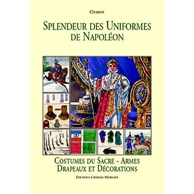 Costumes du sacre - Armes - Drapeaux et décorations