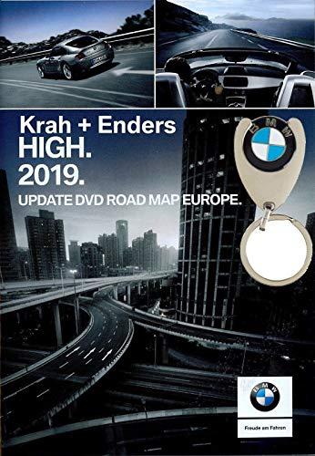 BMW Navi DVD 2019 Europa High + Einkaufschip
