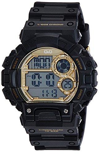 686808f91d15 Q Q Reloj Analógico para Hombre de Cuarzo con Correa en Caucho QM144J004Y