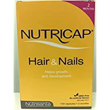 Nutricap Hair Growth LARGE SIZE (120Capsules) Brand: Leritone by Leritone