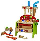 Topway 42257tavolo banco da lavoro giocattolo di legno (piccolo)