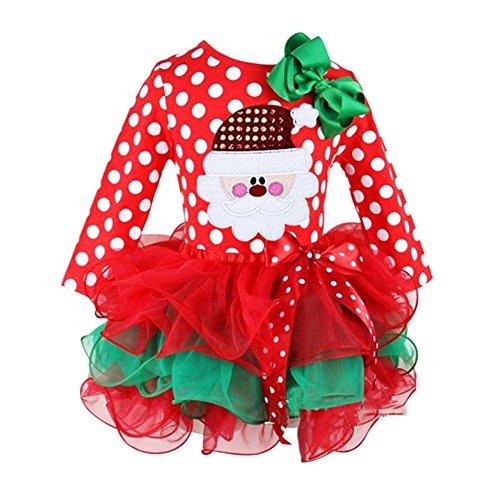 Patgoal Baby Mädchen Weihnachten Kleidung Weihnachtskostüm Baby - Asian Boy Kostüm