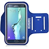 Smash Terminator Sports Running Jogging Gym Armband Arm Band Case Cover Holder For iPhone 5 5S 5C by AllThingsAccessory® (iPhone 5 , blue)