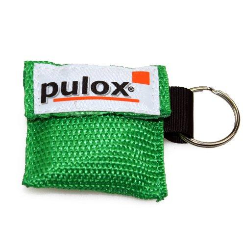 PULOX RESPI-Key Schlüsselanhänger Beatmungsmaske in grün
