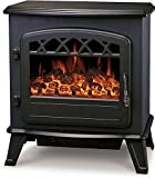 "Galleon Fires ""Castor"" Electric Log Effect Stove Fireplace - Freestanding Electric Stove Fire places"