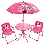 Best Disney Chaises de camping pliante - FUN HOUSE 712687 Disney Minnie Salon de Jardin Review
