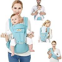 d535cb5a74d4 Viedouce Porte-bébé Ergonomique Multi-fonctions Ajustable,Pur coton  Porte-bébé avec