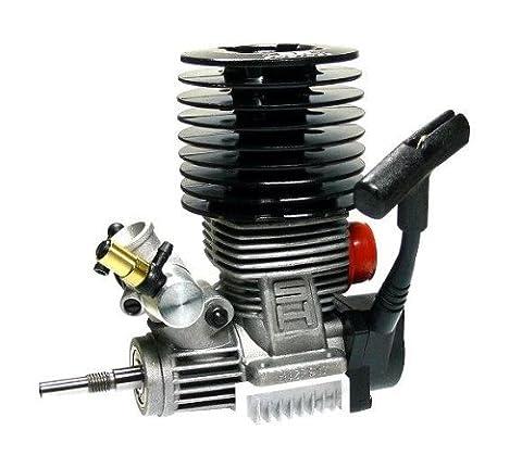 SH ENGINES Modell Schwarz 21 Nitro Motor 3.48cc RC Car Buggy Truck Truggy EG636 mit RCECHO Vollversion Apps Ausgabe
