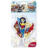 Bougie Super Hero Girl 2D- Déco Gâteau Anniversaire Enfant - 558