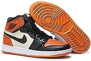 Air Jordan 1 High Orange Black-White