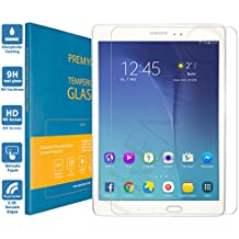 PREMYO cristal templado Tab A 9.7. Protector cristal templado Galaxy Tab A 9.7 con una dureza de 9H, bordes redondeados a 2,5D. Protector pantalla Galaxy Tab A 9.7
