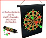 Double-Faced 12 Magnetic Portable Darts ...