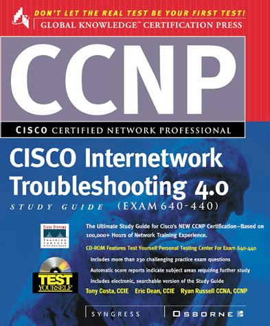 CCNP Internetworking Troubleshooting Study Guide (Exam 640-406) (Cisco Study Guide) por Syngress Media  Inc.
