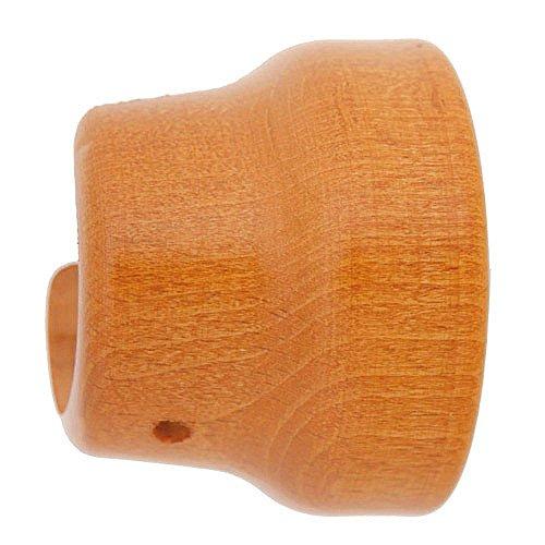 Riel Chyc 5430572 Support en bois lisse latéral 20 x 35 mm Couleur teck