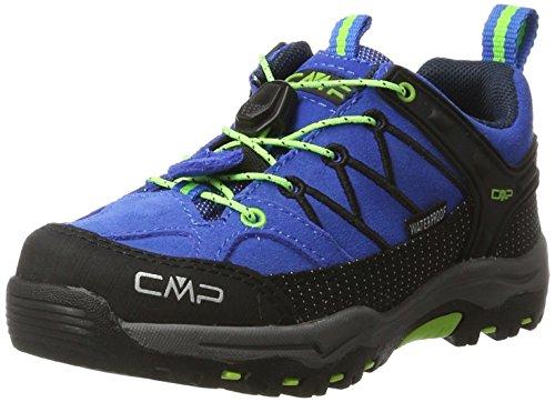 CMP Unisex-Kinder Rigel Low Trekking- & Wanderschuhe, Blau (Royal-Frog 94bd), 28 EU