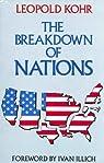 The Breakdown of Nations par Kohr