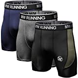 MEETYOO Kompressionsshorts Herren, Kompressionshose Kurz Sport Laufhose Männer Atmungsaktiv Kompressionsunterwäsche für Laufen Wandern Jogging