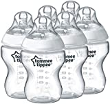 Tommee Tippee Closer to Nature Feeding Bottles - Pack of 6