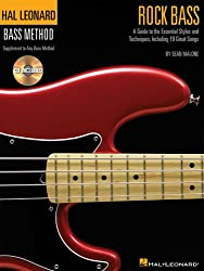 Hal Leonard Bass Method Rock Bass Stylistic Supplement + CD